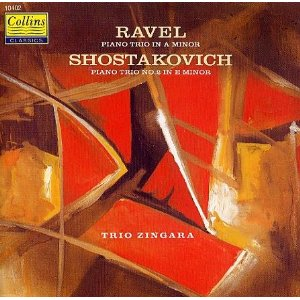 Ravel Piano Trio in A minor, Shostakovich Piano Trio No. 2 in E Minor Sophie Langdon violin